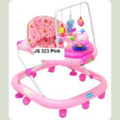 Ходунки Bambi JS 323 Pink