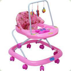 Ходунки Bambi JS304 Pink