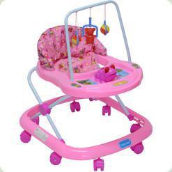Ходунки Bambi JS307 Pink