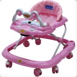 Ходунки Bambi M0590 Розовый