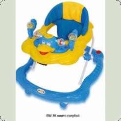 Ходунки Bertoni BW-10 (голубой-желтый)