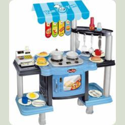 Игровой набор Bambi 383-008 Кухня Голубой