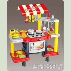 Игровой набор Bambi 383-009 Кухня Красный