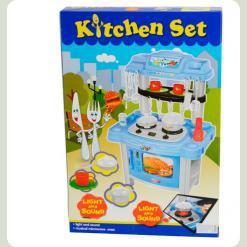Игровой набор Bambi 383-015 Кухня Голубой
