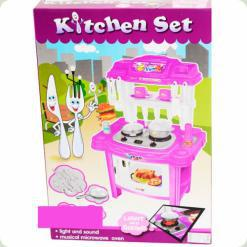 Игровой набор Bambi 383-017 Кухня Фиолетовый