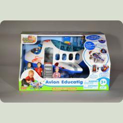 Игровой набор Hap-p-Kid Little Learner Самолет (3891 T)