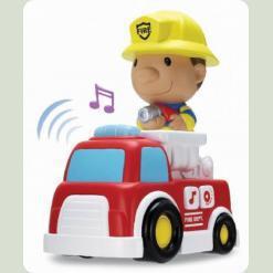 Игровой набор Keenway Пожарный со звуковыми и световыми эффектами (12673)