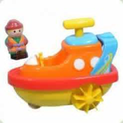 Игрушка для воды Hap-p-Kid Little Learner Транспорт Катер (3502, 3941-3944)