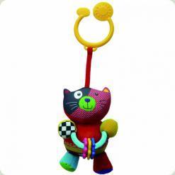 Игрушка-подвеска Biba Toys Счастливый котенок (901HA kitty)