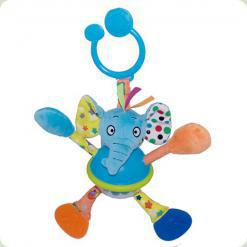 Игрушка-подвеска Biba Toys Слоненок (080JF)