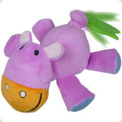 Игрушка-виброползунок Biba Toys Бегемотик (948JF hippo)