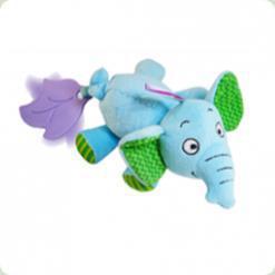 Игрушка-виброползунок Biba Toys Слоненок (948JF elephant)