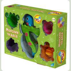 Игрушки для ванной «Морские чудеса»