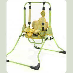 Качели Tako Swing с барьеркой Зеленые цветы