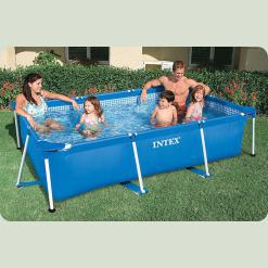 Каркасный бассейн Intex 28273 Rectangular Frame Pool