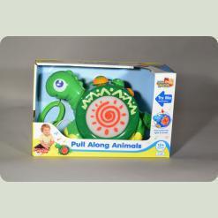 Каталка Hap-p-Kid Little Learner Динозавр (4205 T)