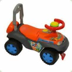 Каталка Kinderway Динно (11-003) Оранжевый