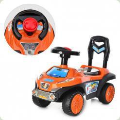 Каталка-толокар Bambi Q 03-1-7 Оранжевый с черным