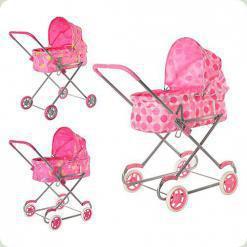 Классическая коляска для кукол Melogo 9308/022