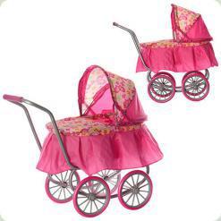 Классическая коляска для кукол Melogo (9678)