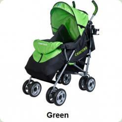 Коляска Caretero Spacer - green