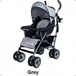 Коляска Caretero Spacer - grey