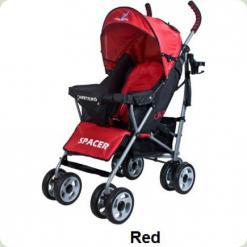 Коляска Caretero Spacer - red