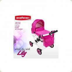 Коляска для кукол Adbor Lily K-09