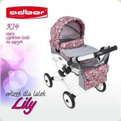 Коляска для кукол Adbor Lily K-14