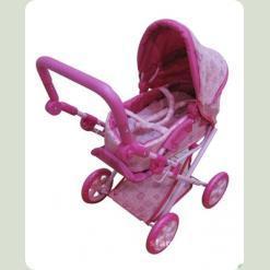 Коляска для кукол Melogo (Metr+) 9346 Розовый с малиновым