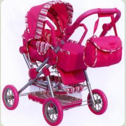 Коляска для кукол Melogo (Metr+) 9360 Розовый