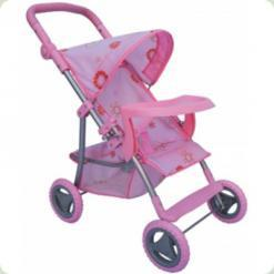 Коляска для кукол Melogo (Metr+) 9366 T Розовый