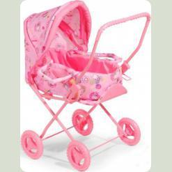Коляска для кукол Melogo (Metr+) 9391 Розовый
