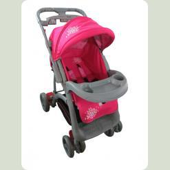 Коляска прогулочная Flora - Pink