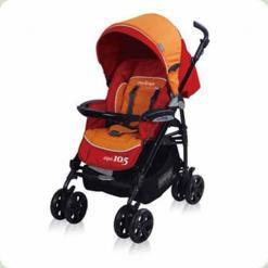 Коляска Pur Equipage Equi 10,5 (orange-red)