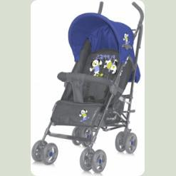 Коляска-трость Bertoni Fiesta с чехлом Blue&Gray Puppies
