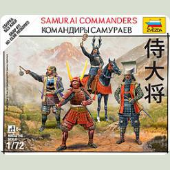 Командиры самураев
