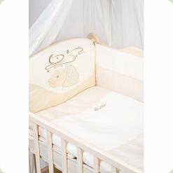 Комплект постельного белья Putti Starry night Сменный Бежевый 3 элемента