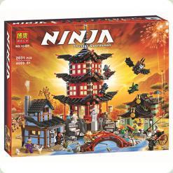 Конструктор Bela Ninja Храм Аеро-Джитсу (10427)