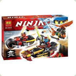 Конструктор Bela Ninja Погоня на мотоциклах (10444)