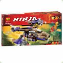Конструктор Bela Ninja Вертолётная атака Анакондрай (10321)