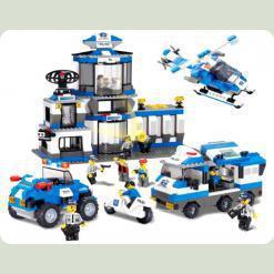 Конструктор Sluban 619993/M 38 B 0193 Полицейский спецназ 859 деталей