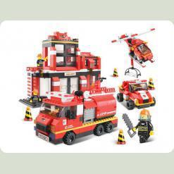 Конструктор Sluban 620038/M 38 B 0226 Пожарные спасатели