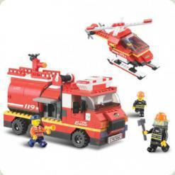 Конструктор Sluban Пожарная техника (M38-B0222)