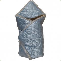 Конверт-одеяло для роддома Ассоль Голубой