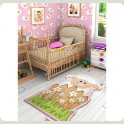 Ковер в детскую комнату Confetti - Baby Sheep белый 100*160