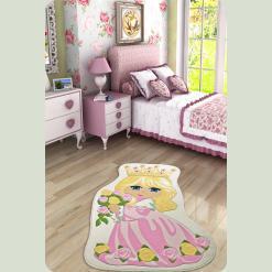 Ковер в детскую комнату Confetti - Princess розовый 100*160