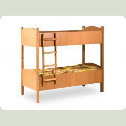 Кровать детская двухярусная (1400*600) ДСП