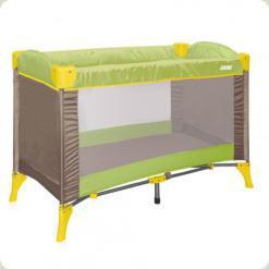 Кровать-манеж Bertoni Arena 1 Layer Green&Beige Puppies