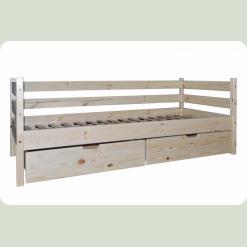Кровать одноярусная Babygrai из сосны